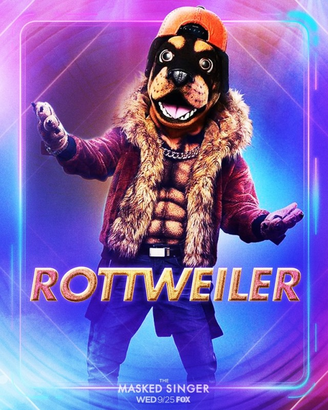 The Masked Singer Season 2 Rottweiler Is Bow Wow Chris Daughtry Robbie Williams Conan Daily