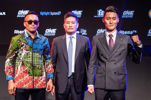 Sunoto, Chatri Sityodtong, Kwon Won Il (© ONE Championship)
