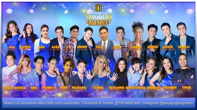 'Tawag ng Tanghalan' celebrity edition