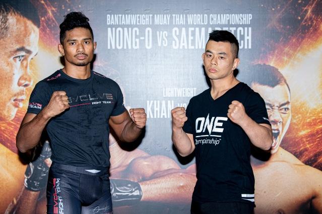 Amir Khan, Ev Ting (©ONE Championship)