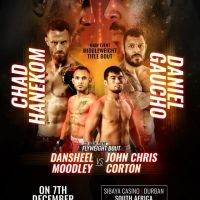 Team Lakay's Jon Chris Corton to face Dansheel Moodley at 'BRAVE CF 31' in Durban, South Africa
