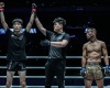 Kim Kyu Sung, Kemp Cheng, Akihiro Fujisawa (©ONE Championship)