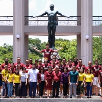 UP Fighting Maroons help Palawan Express Pera Padala give back to UP