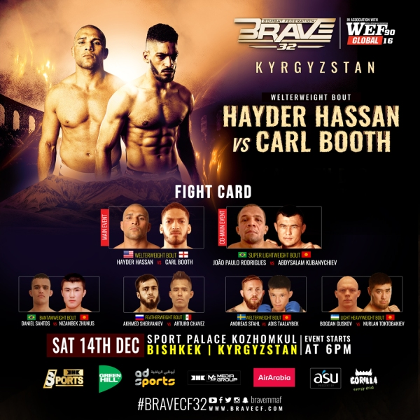 'BRAVE CF 32' fight card