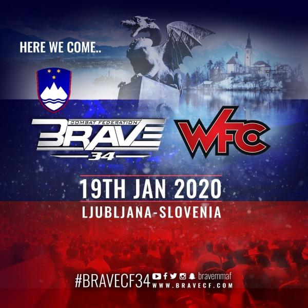 'BRAVE CF 34' poster