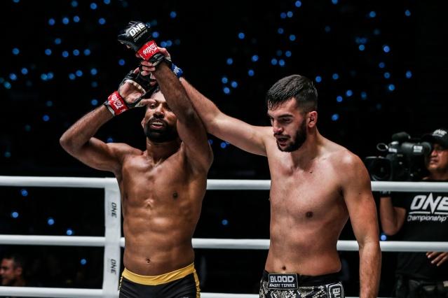 Rahul Raju, Furqan Cheema (©ONE Championship)