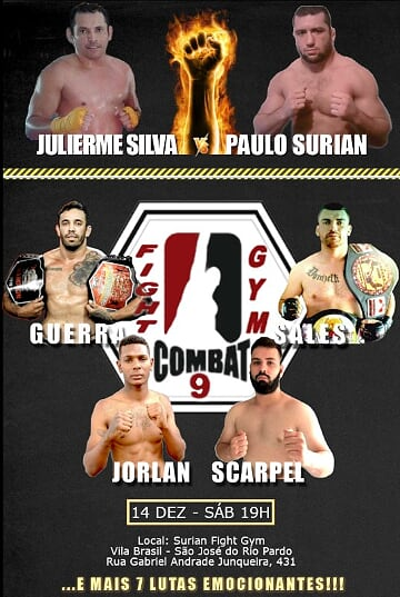 'Fight Gym Combat 9' poster