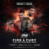 'ONE: Fire and Fury' fight card: Joshua Pacio vs Alex Silva, Eduard Folayang vs Ahmed Mujtaba in Manila, Philippines
