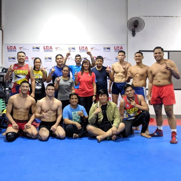 Philippine national sambo team (©Jerry Legaspi)
