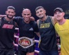 Roan Carneiro (2nd from left) (©World Kickboxing Network)
