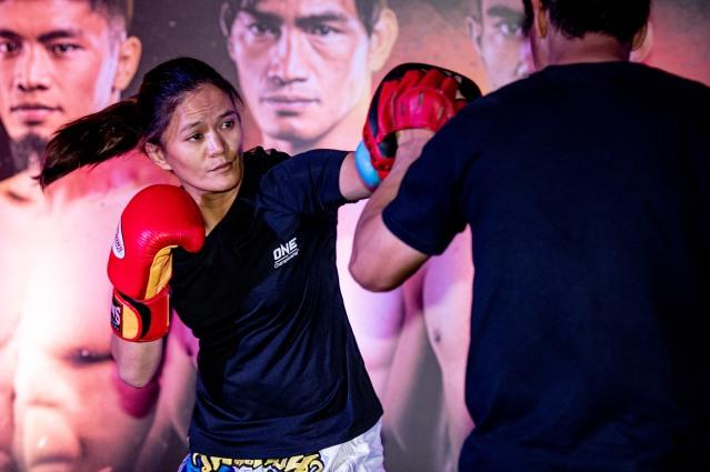 Gina Iniong (©ONE Championship)