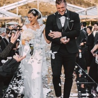 13 wedding photos of ex-NFL star Tim Tebow, Miss Universe 2017 Demi-Leigh Nel-Peters on Instagram