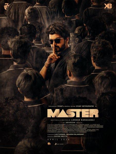 'Master' film poster