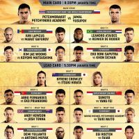 'ONE: Warrior's Code' fight card, results: Petchmorakot Petchyindee Academy vs Jamal Yusupov, Leandro Ataides vs Reinier de Ridder in Jakarta, Indonesia
