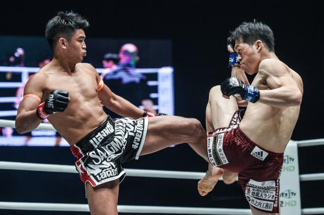 Sangmanee Sathian Muaythai Gym, Kenta Yamada (©ONE Championship)