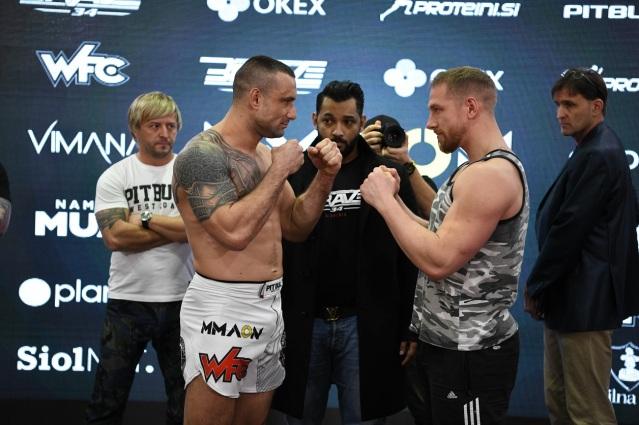 Zlatko Mahic, Viktor Vasić, Mohammed Shahid, Luka Podkrajšek, Kirik Jenness (©BRAVE Combat Federation)