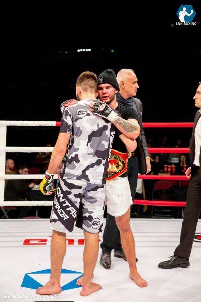 Daniil Vesnenoks (©LNK Boxing)
