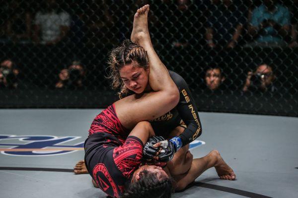 Denice Zamboanga (©ONE Championship)