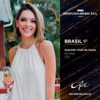 Brazil's Gabrielle Vilela crowned Virreina Hispanoamericana 2019 in Bolivia