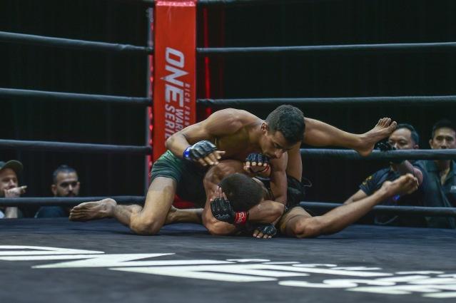 Irfan Ahmad (©ONE Championship)