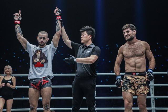 Iuri Lapicus, Kemp Cheng, Marat Gafurov (©ONE Championship)