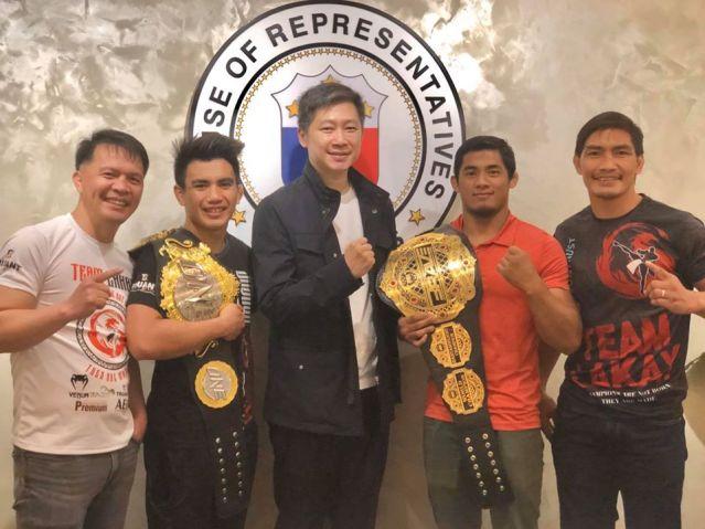 Mark Sangiao, Joshua Pacio, Eric Go Yap, Stephen Loman, Eduard Folayang