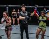Mei Yamaguchi, Kemp Cheng, Denice Zamboanga (©ONE Championship)