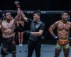 Murad Ramazanov, Kemp Cheng, Bae Myung Ho (©ONE Championship)