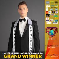Gorinchem, Netherlands' Paul Luzineau wins Manhunt International 2019 in Quezon City, Philippines