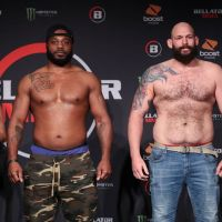 Fargo, North Dakota's Timothy Johnson earns 1st Bellator MMA win, breaks Tyrell Fortune's undefeated record