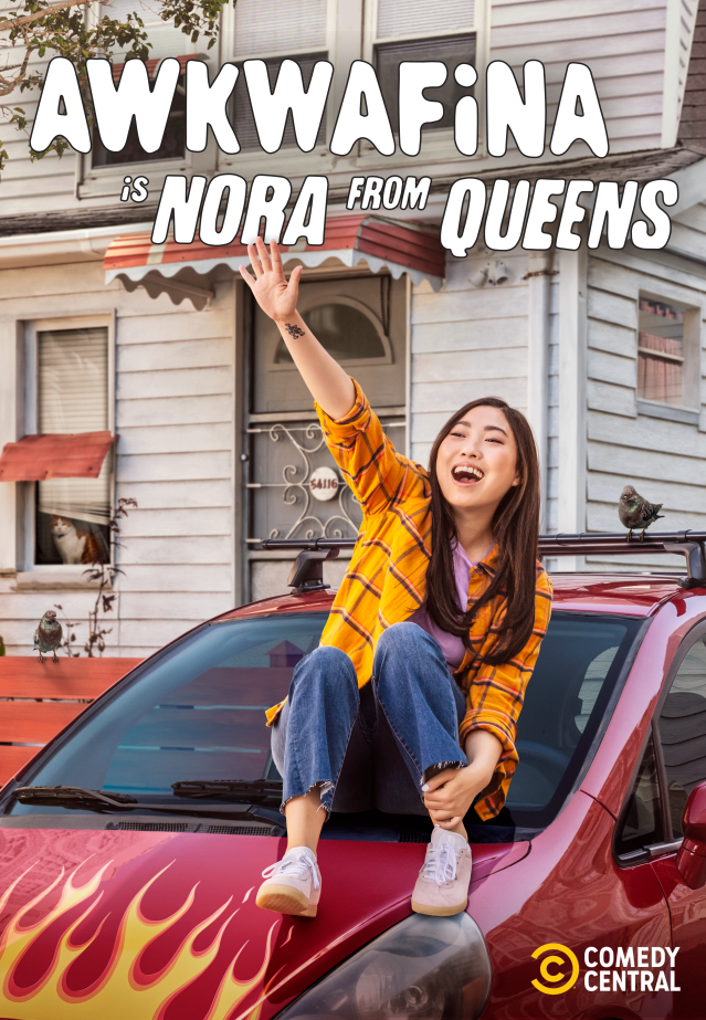 'Awkwafina is Nora from Queens' poster