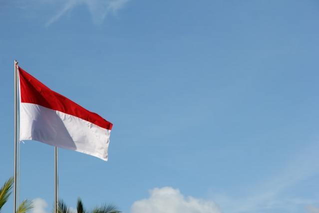 Indonesian flag (©Nick Agus Arya)