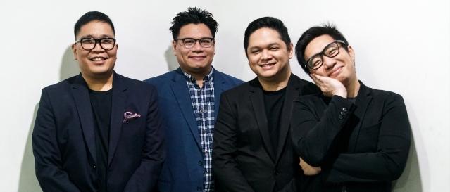 Jugz Jugueta, Jazz Nicolas, Chino Singson, Hadrian Cruz