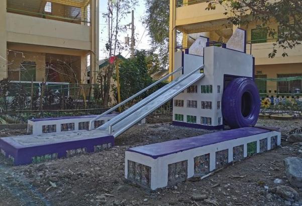 Mondelez Philippines recycled play area