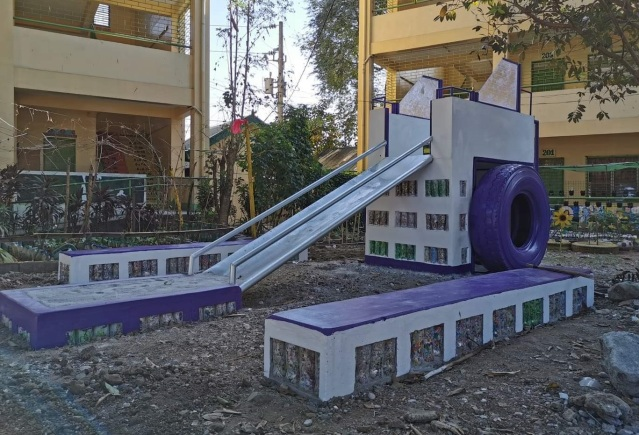 Mondelez Philippines recycled play area