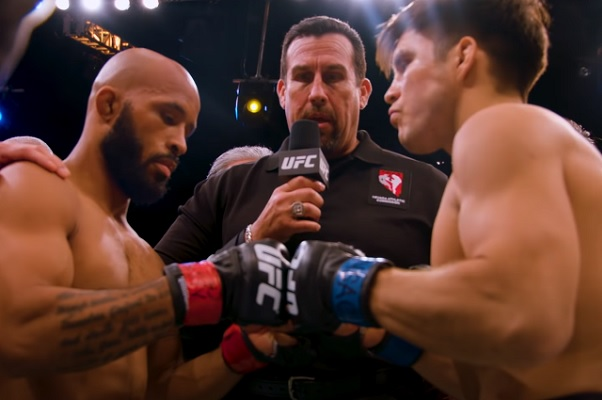 Demetrious Johnson, John McCarthy, Henry Cejudo