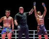 Mark Abelardo, Nick Chapman, Fabricio Andrade (©ONE Championship)
