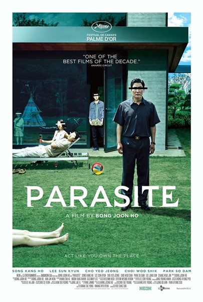 'Parasite' poster