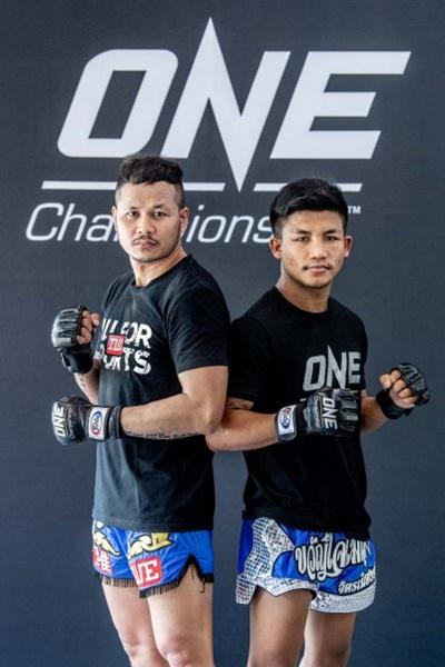 Yodsanklai IWE Fairtex, Rodtang Jitmuangnon (©ONE Championship)