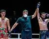 Huang Ding, Kregkai Klaokeng, Fahdi Khaled (©ONE Championship)