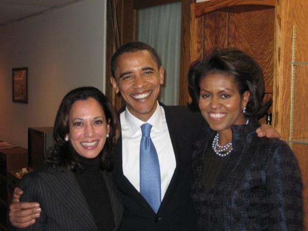 Kamala Harris, Barack Obama, Michelle Obama