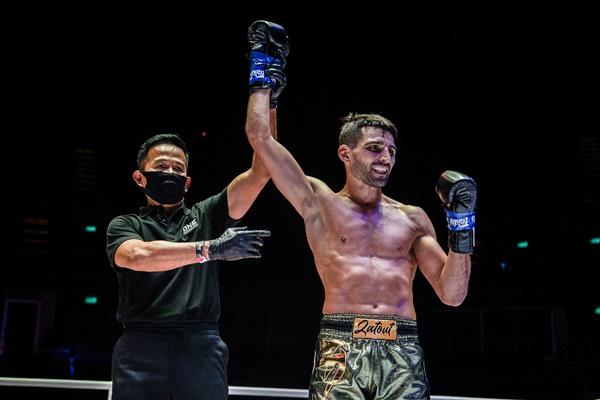 Yongsak Na Songkhla, Mehdi Zatout (©ONE Championship)