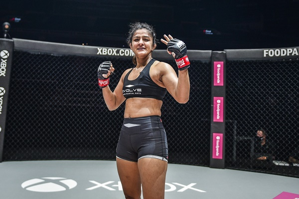 Ritu Phogat (©ONE Championship)