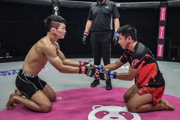 Song Min Jong, Geje Eustaquio (©ONE Championship)