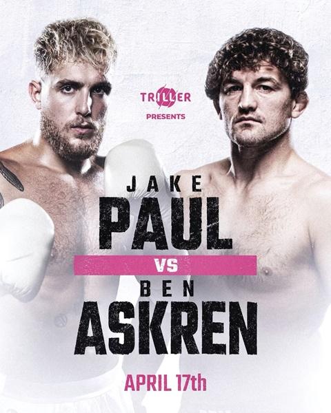 Jake Paul, Ben Askren