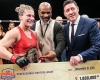 Kayla Harrison, Mike Tyson, Peter Murray (©PFL)