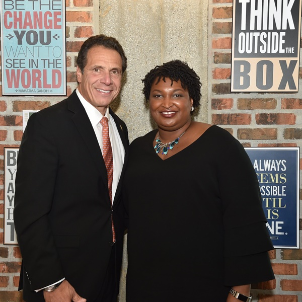 Andrew Cuomo, Stacey Abrams