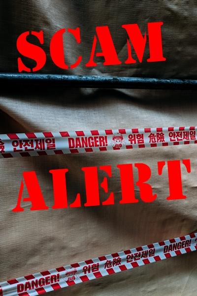 scam alert (©Markus Winkler)