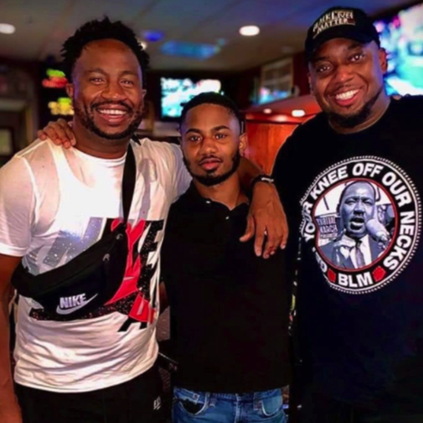 Maurice Jauntiness Johnson, Marzell Mitchell, Brandon Mitchell (©Travis Mitchell)
