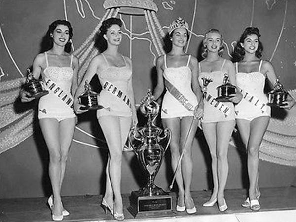 Iris Alice Kathleen Waller, Marina Orschel, Carol Laverne Morris, Ingrid Goude, Rossana Galli